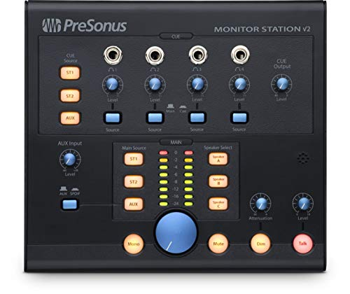 Monitor Control Studio Center - PreSonus Monitor Station V2 Desktop Studio Control Center