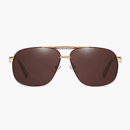 Gafas de moda Gafas de sol polarizadas Clásico Retro Marrón ...