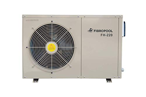 Fibropool FH 220 Swimming Pool Heater Heat Pump (Best Electric Pool Heaters For Inground Pools)