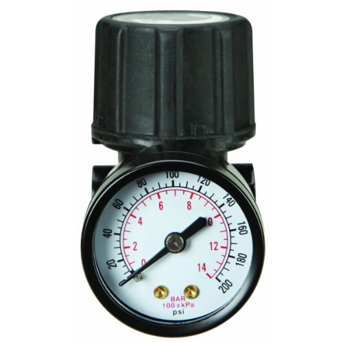 150 PSI Air Compressor Regulator Kit with Gauge HFJ14