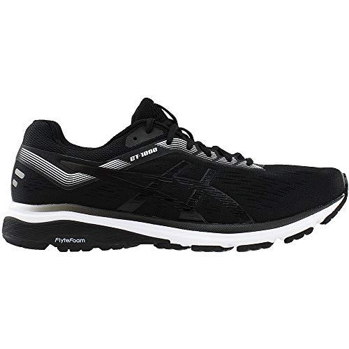 ASICS 1011A042 Men's GT-1000 7 Running Shoe Black/White by ASICS (Image #1)