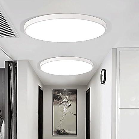 XZHXQ&KXMYT Led Lámpara De Techo Redondo Salón Dormitorio ...