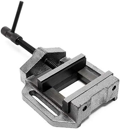 WilTec Etau de Machine Outil Professionnel Per/çage Meulage Fraisage Outil Atelier Perceuse125mm
