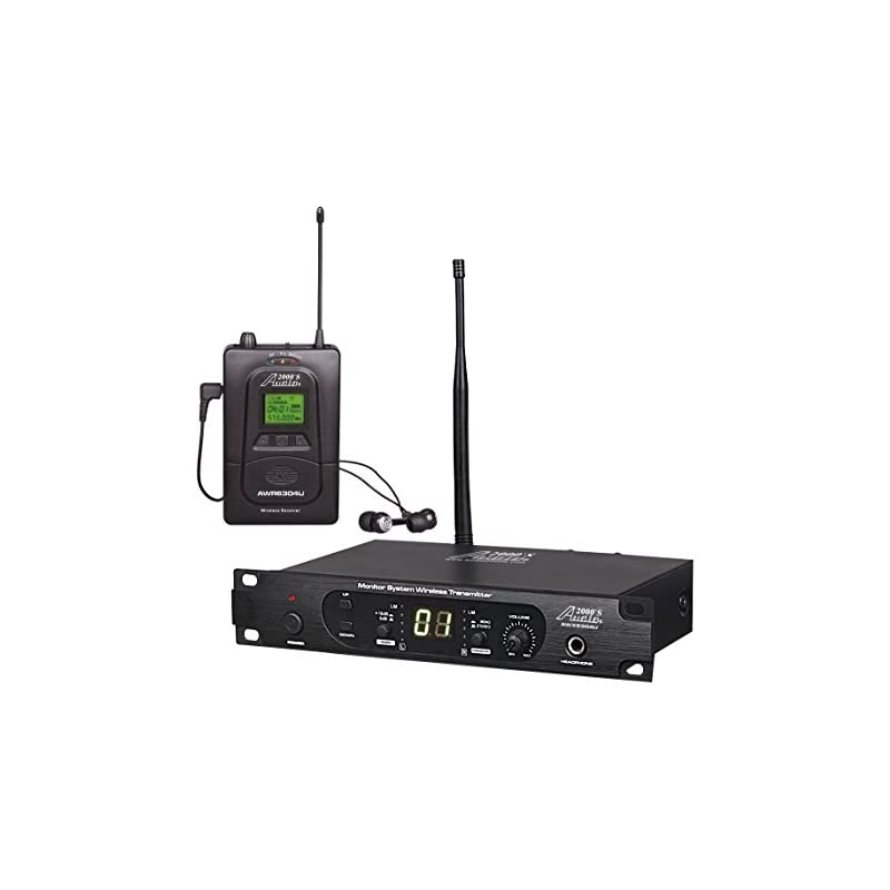 Audio2000'S AWM6304U 100 Selectable Freq
