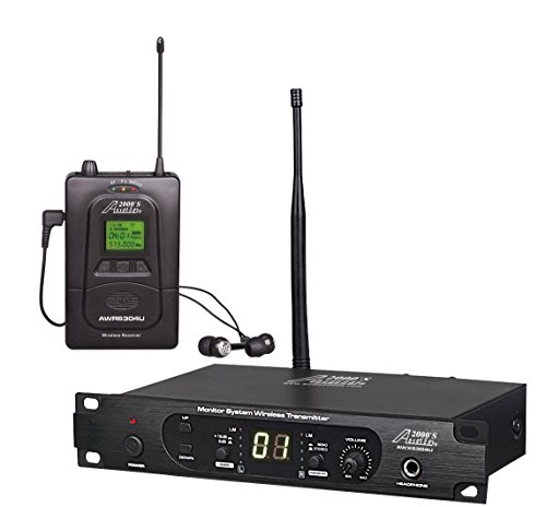 Audio2000'S In- In-Ear Audio Monitor System (AWM6304U) ()