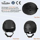 TurboSke Ski Helmet, Snow Sports Helmet, Snowboard Helmet...