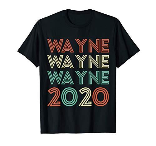 Wayne Wayne Wayne 2020 Vintage T-Shirt T-Shirt (Lil Wayne Shirt Pink)