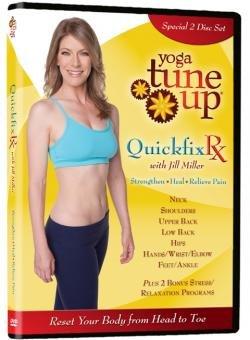 Yoga Tune Up QuickFix Rx: Upper and Lower Body 2 Disc DVD Set