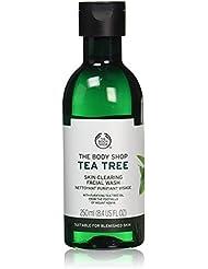 The Body Shop Tea Tree Skin Clearing Facial Wash, 8.4 Fl Oz (Vegan)