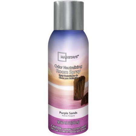 Mainstays Odor Neutralizing Room Spray, Purple Sands, 4 oz by Mainstay
