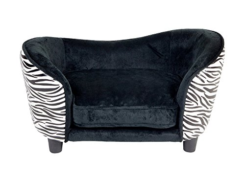 Encharted-Home-Ultra-Plush-Snuggle-Bed-Zebra