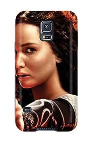 Galaxy Case - Tpu Case Protective For Galaxy S5- Katniss Jennifer Lawrence 4996472K60767806