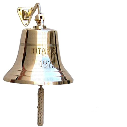 Titanic Ship Bell - 6 inches by OM001