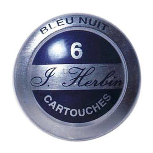 J. Herbin Ink Cartridges Bleu Nuit