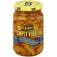 Mt. Olive Simply Vidalia Pickled Onion Strips 16 oz. ( 2 PACK )