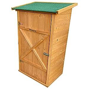 Woodside Wooden Garden Storage Cabinet