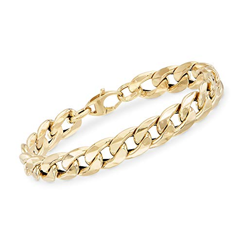 Ross-Simons Italian 14kt Yellow Gold Curb-Link Bracelet