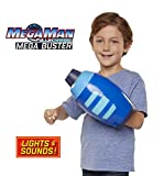 Mega Man Fully Charged - Kid-Sized Roleplay Mega Buster with Over 10 Light Patterns and Authentic Sounds! Become Mega Man! Based on The New Show!