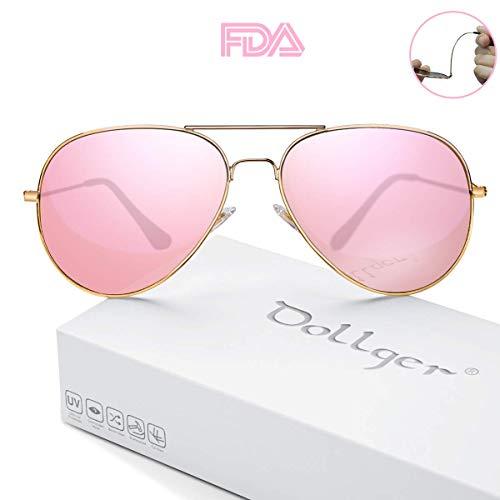(Polarized Aviator Sunglasses for Men and Women Oversized Mirrored Sun Glasses UV400)