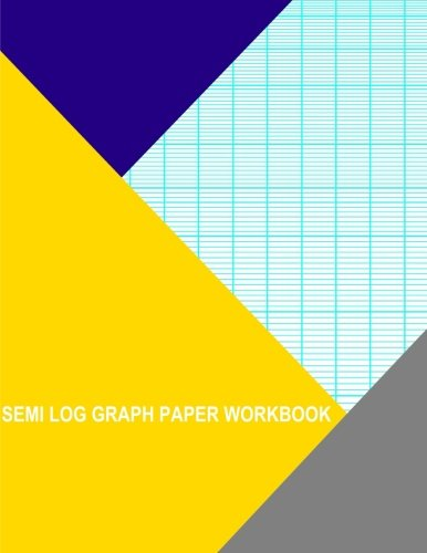 Semi Log Graph Paper Workbook: 12 Divisions By 1 Cycle: Thor