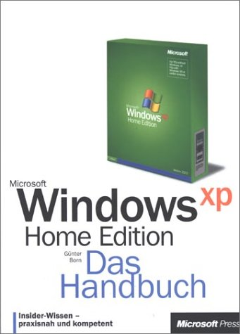 Microsoft Windows XP Home Edition, Das Handbuch, m. CD-ROM