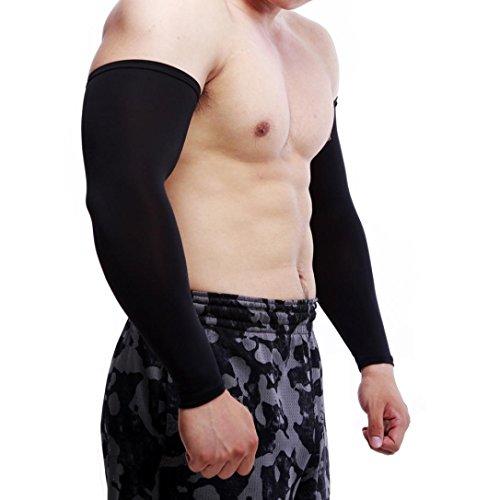 de Protection en de solaire refroidissement Manchettes PC Activités Manches refroidissement bras manches bras Noir pour Bras Manches hommes pour et UV Longra 1 extérieur Protection Randonnée qxPfwwtA