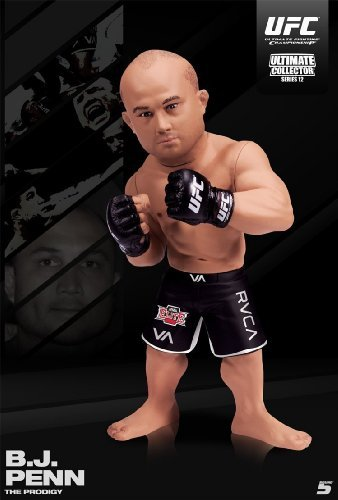(Round 5 MMA UFC Ultimate Collector Series 12 BJ Penn Action Figure)