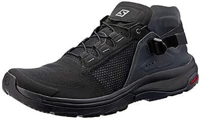 SALOMON Women's Tec Amphibian 4 Water Shoe, Black/Ebony/Quiet Shade, 8.5 US