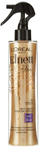 L'Oréal Paris Elnett de Luxe - Hitze Styling-Spray Glatt, 170 ml