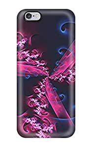 Hot New Blue Purple Abstract Case Cover For Iphone 6 Plus With Perfect Design by Maris's Diary