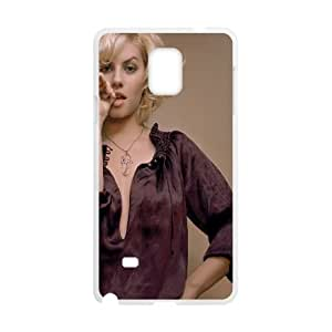 Samsung Galaxy Note 4 Cell Phone Case White Elisha Cuthbert Chewing Thumb Gtqit