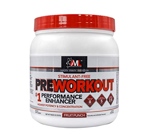 Advanced Molecular Labs Preworkout 20 Servings 16.89 oz. 479 g Fruit Punch