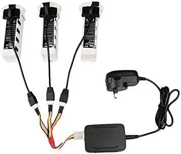Murakush バッテリー充電ケーブル 3-in-1 バランスバッテリー充電コードラインアダプター Hubsan用 ZINO用