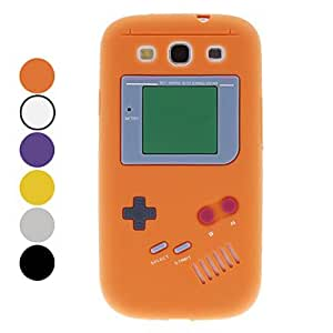 Vintage Game Style Protective Soft Silicone Case for Samsung Galaxy S3 I9300 (Assorted Colors) , Gray