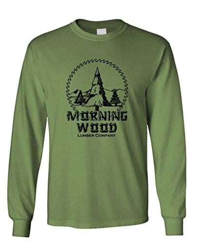 GOOZLER MORNING Cotton Sleeved T Shirt