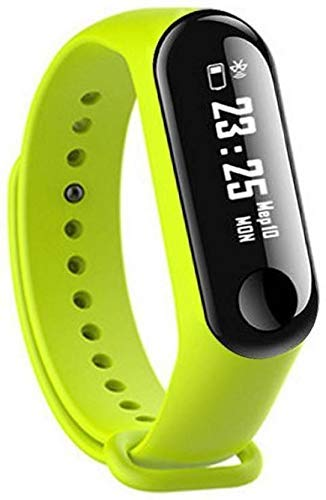 a4a30ae7bd Mobimint M3 Fitness Band Smart Wrist Bands Watch, Bluetooth Enabled Activity  Tracker with Heart Rate