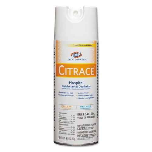 * *病院Disinfectant & Deodorizer、シトラス、14オンスエアロゾル、12 /カートン B00O3BKQNS