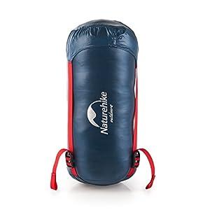 Naturehike Ultralight Goose Down Sleeping Bag - 800 Fill Power Ultra Compact - Best Down-Filled Lightweight Envelope Sleep Bags for Backpacking Hiking Camping (Dark Blue)