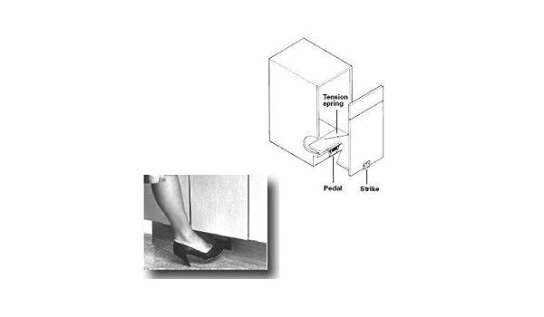 Foot Pedal Door Opener For Pull Out Door By Hafele America