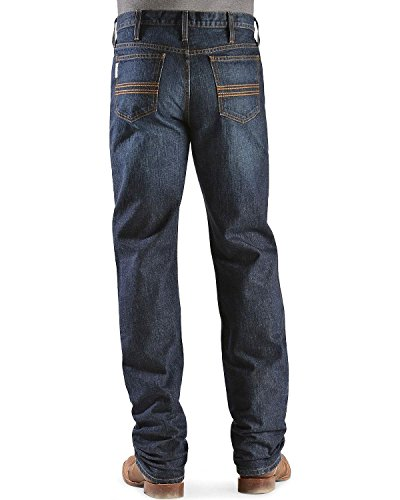 Cinch Men's Silver Label Dark Wash Jeans Dark Stone 26W x 36