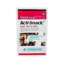 Acti-Snack Fruit, Nut & Seed Power Pack 250g - (Pack of 2)