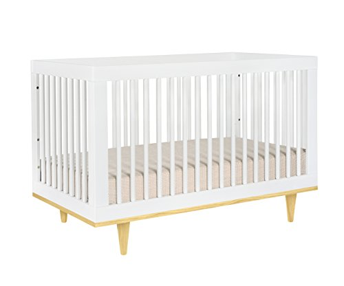 Baby Mod Marley 3-in-1 Convertible Crib, White and (Wal Mart Toddler Beds)
