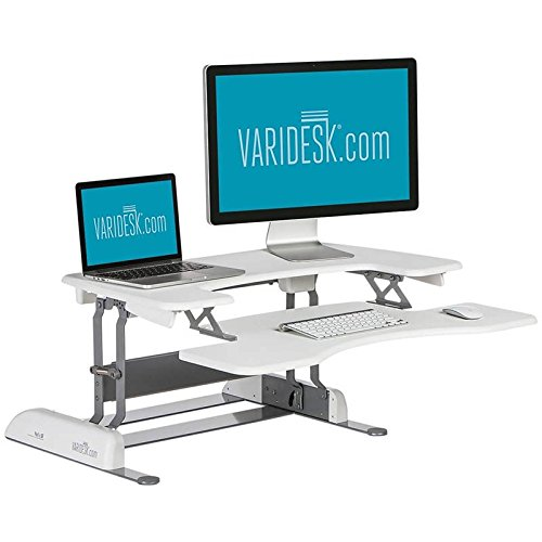 VARIDESK - Height-Adjustable Standing Desk - Pro Plus 36 - White