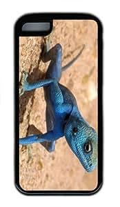 indestructible cases Blue Lizard TPU Black Case for iphone 5C