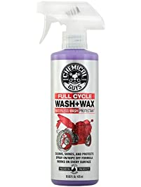 Chemical Guys MTO10016 Moto Line Full Cycle Waterless Wash/Wax Cleaner/Protectant for Motorcycles, 16 fl. oz, 1 Pack