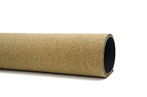 Roots Professional Cork Yoga Mat - 72 inch by Gurus