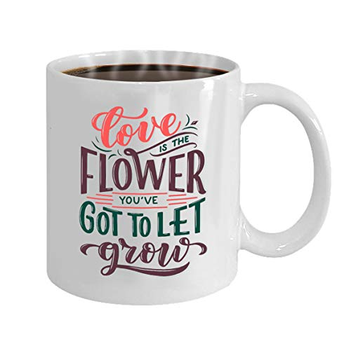 (Funny Gifts for Halloween Party Gift Coffee Mug Tea lettering quote flowers made postcard invitation)