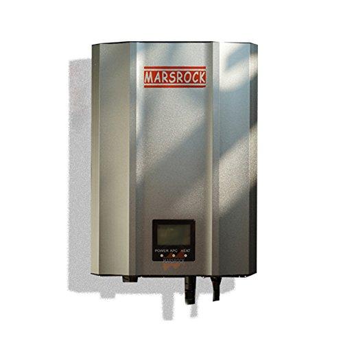 Solar Power Grid System Tied (1000W MPPT Solar Grid Tie Micro Inverter with IP65, 85-125Volt DC,220V(190-260Volt AC) or 120V(90-140Volt AC),LED&LCD for Solar Panel System (Sliver, AC 120 60Hz))