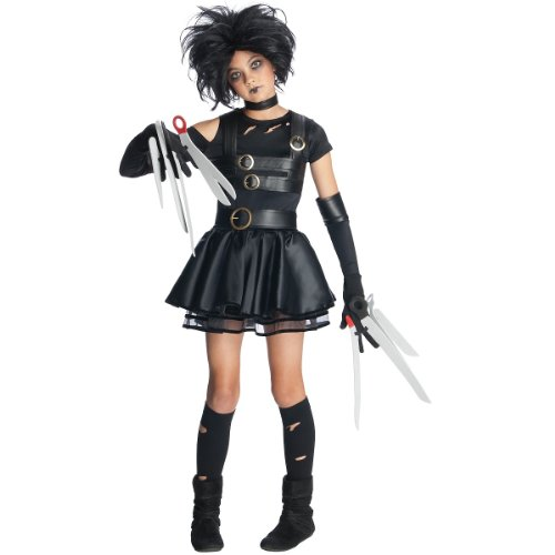 Edward Halloween Costume (Miss Scissorhands Tween Costume - Medium)