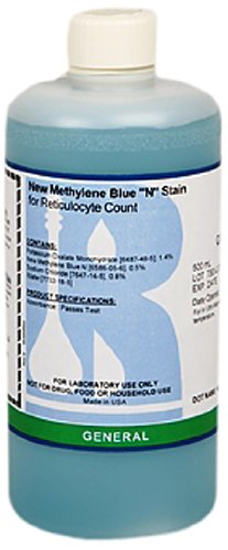 Ricca Chemical 5285-16 New Methylene Blue 'N', 500mL Poly Natural Container by Ricca Chemical